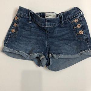 Abercrombie Kids denim shorts 11/12